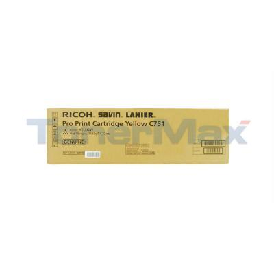 RICOH SL PRO C751 PRINT CARTRIDGE YELLOW